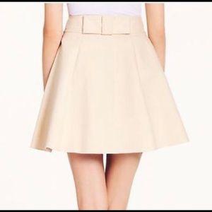Kate Spade Terra Bow Skirt - Beige